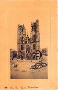 Bruxelles Belgium, Belgique, Belgie, Belgien Eglise Sainte Gudule Bruxelles E...