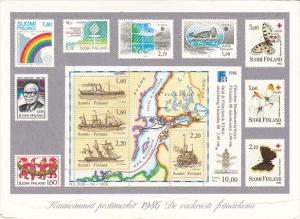 Stamps Of Finland 1986 Issues
