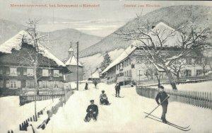 Germany Menzenschwand bad Schwarzwald Hinterdorf Gasthof zum Hirschen 03.85
