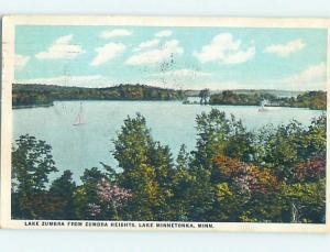 W-Border LAKE MINNETONKA Tonka Bay Near Minneapolis Minnesota MN HM8570
