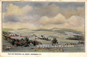 Hills and Mountains Obernburg NY 1916
