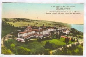 Aerial View, The Glen Springs, Mineral Springs Health Resort and Hotel, Watki...