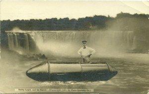 RP; NIAGARA FALLS, Ontario , Canada , PU-1911; Bobby Leach and his Barrel