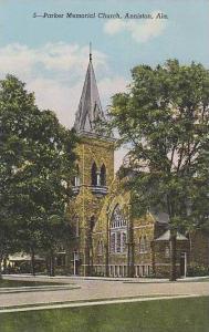 Alabama Anniston Parker Memorial Church