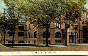 Wisconsin La Crosse Y M C A Building 1910 Curteich