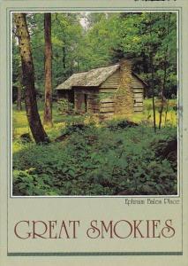 Tennessee Smoky Mountain Ephraim Bales Place Great Smokies 1984