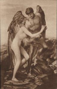 Love and Life G F Watts Art topic