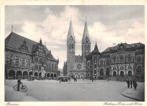 Bremen Germany Rathaus, Dom and Borse Bremen Rathaus, Dom and Borse
