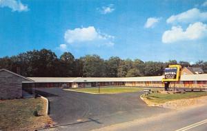 Princeton Motel Nestled on West Virginia Turnpike~Owner Selvey~Sound-Proof 1950s