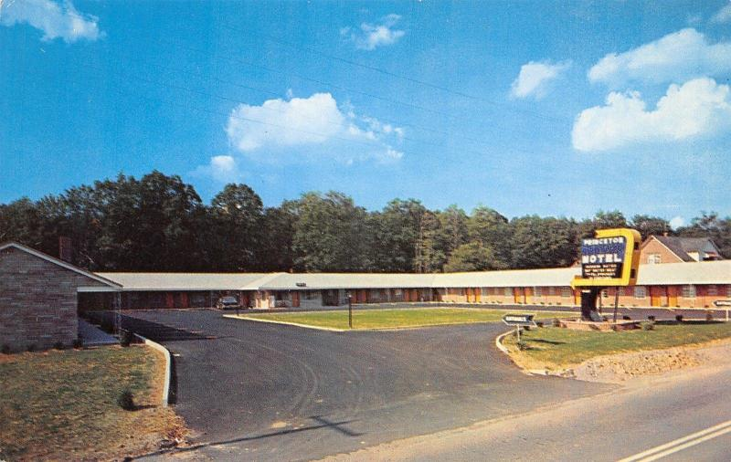 Princeton Motel Nestled on West Virginia Turnpike~Owner Selvey~Sound-Proof 1950s