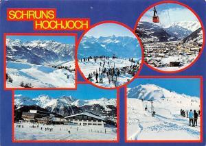 Schruns Hochjoch Wintersprot Montafon Ski Sport Cable Car Lift Panorama