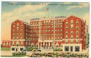 Entrance To The Great Western Gateway, Hotel Van Curler, Schenectady, New Yor...
