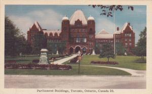 Parliament Buildings, Toronto, Ontario, Canada, 1930-1940s