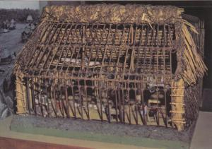 Model of traditional house in Fiji , 50-70s