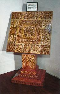 Inlaid Table, 29 Different Woods, Ripley's Belive It or Not! Museum, ST. AUGU...