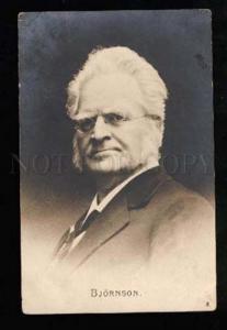025646 BJORNSON Norwegian Writer NOBEL PRIZE Winner Old PHOTO