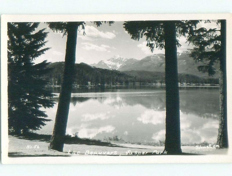 Pre-1962 rppc NICE VIEW Jasper Alberta AB W1009