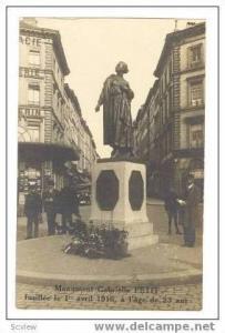 RP,Monument Gabrielle PETIT,Brussels,Belgium,1916