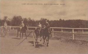 Maine North Belgrade Camp Arcadia For Boys Artvue