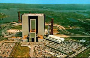 Florida John F Kennedy Space Center Vehicle Assemble Building With Apollo/Sat...