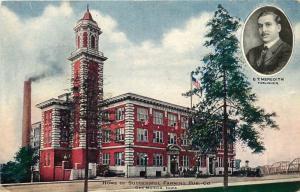 Des Moines, Iowa, IA, Succesful Farming's Modern Plant, Vintage Postcard b415