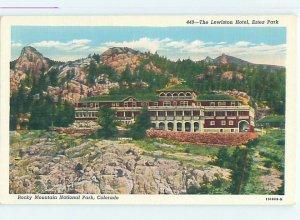 Linen HOTEL SCENE Estes Park - Near Denver Colorado CO AE1678