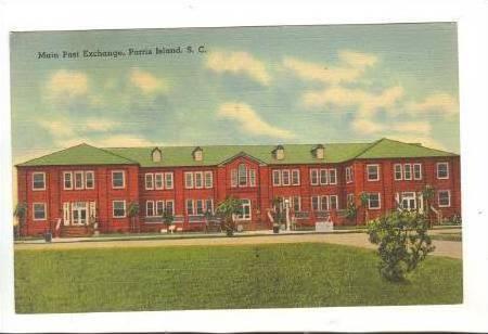 Main Post Exchange, Parris Island, South Carolina, 1930-1940s