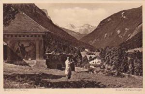 Blick vom Malerhugel, Bad Reichenhall, Bavaria, Germany, 10-20s