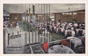 Illinois Chicago Fritzel's Restaurant Dining Room