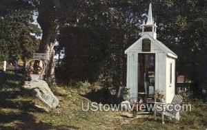 Smallest Church in the World Wiscasset ME Unused