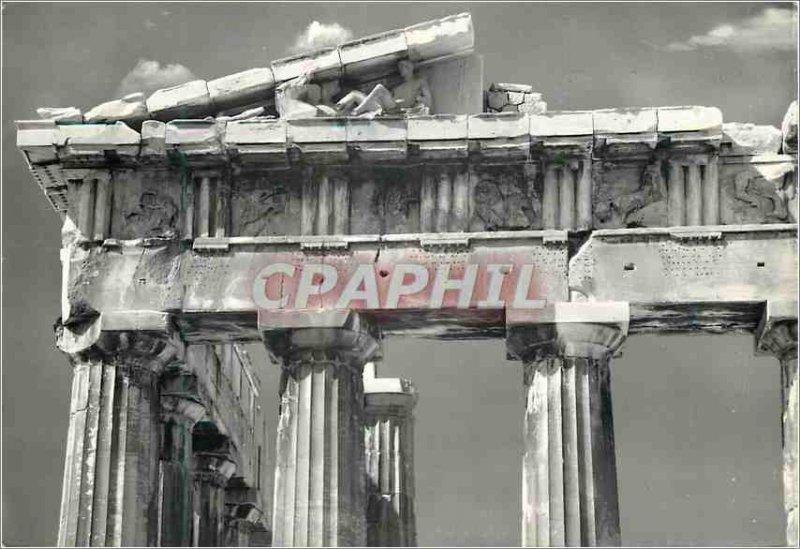 Postcard Modern Athens Parthenon pediment of the East