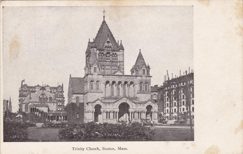 Trinity Church, BOSTON, Massachusetts, 1900-1910s