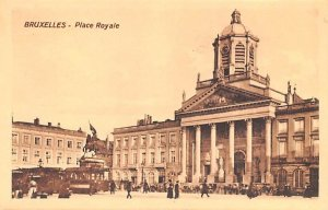 Place Royale Bruxelles Belgium Unused
