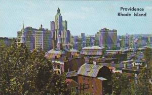 Rhode Island Providence Skyline  Of Providence