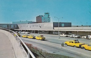 Taxi cabs , Hopkins International Airport , Cleveland , Ohio , 50-60s