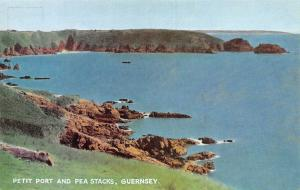 Petit Port and Pea Stacks, Guernsey