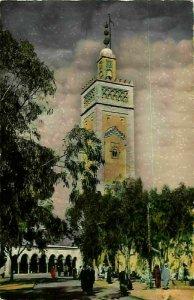 Morocco Scenes et Types Street Tower Postcard