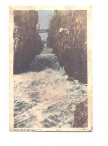 Pokiok Falls, Foot Bridge, New Brunswick,