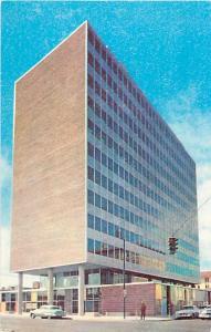 Simms Building Albuquerque New Mexico NM Chrome Postcard