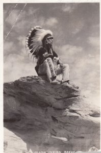 RP: Acoma Indian Brave, PU-1942