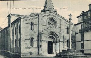 Spain La Coruña Iglesia De Santa Maria Colegiata 02.13