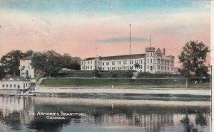 BRANTFORD , Ontario , PU-1907 ; The Armouries