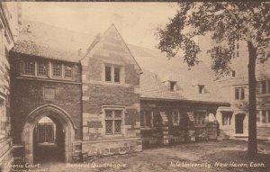NEW HAVEN , CT , 1930s ; YALE ; Memorial Quadrangle