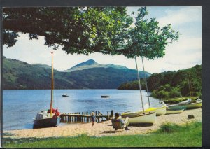 Scotland Postcard - Loch Lomond at Inveruglas, Dunbartonshire    T4554
