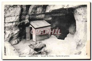 Old Postcard Cave Caves Sassenage Gorges Furon Entree caves