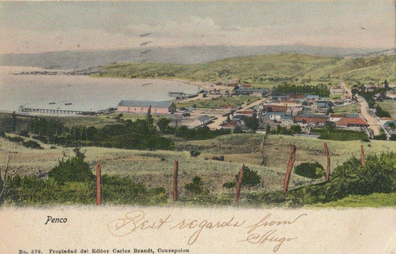 PENCO , Chile , 1907 ; Panorama