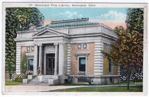 Stonington, Conn, Stonington Free Library