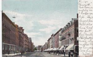 LAWRENCE , Massachusetts, 1905 ; Essex Street