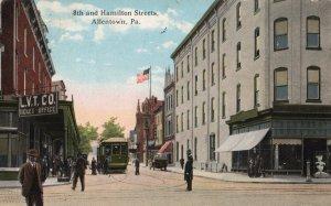 12442 Trolley, Lehigh Valley Transit Office, Allentown, Pennsylvania 1917