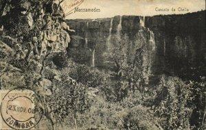 PC CPA MOZAMBIQUE, MOSSAMEDES, CASCATA DA CHELLA, Vintage Postcard (b24895)